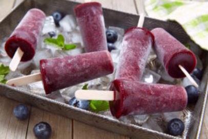 batonnets glaces à la myrtille