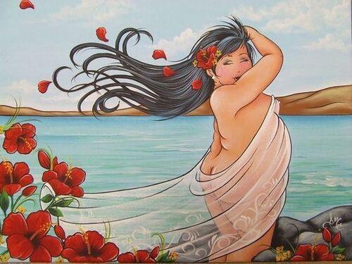 Isabelle Desrochers, l'artiste des généreuses