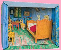 Musette Souricette - la chambre de Van Gogh