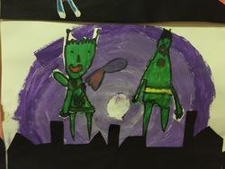 Patati et Patata partent à la découverte d'autres planètes