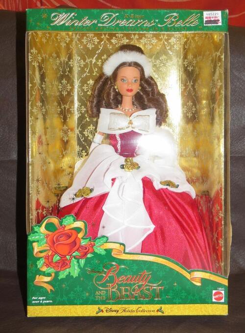Belle, Winter Dreams, de Mattel (1998)