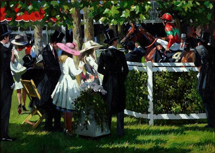 Sherree Valentine Daines, 1956 | Modern Impressionist painter