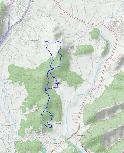 Circuit autour de la Navarre: Montbel et Bouisse