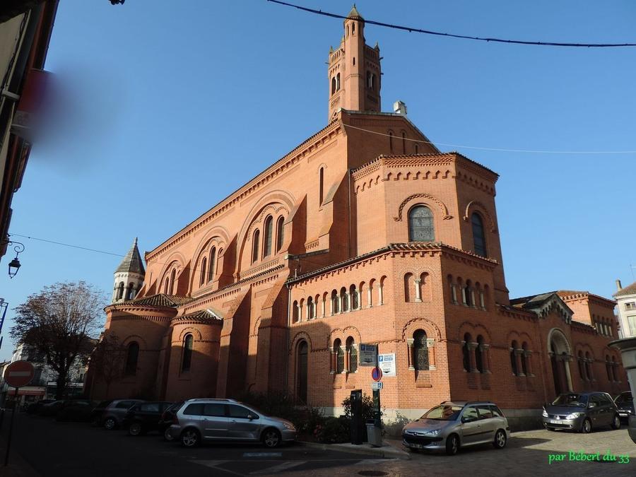 l'église Saint Catherine à Villeneuve (47)