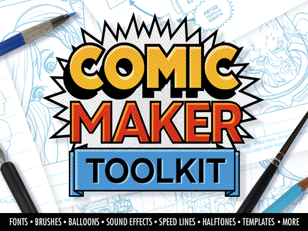 The Comic Maker Toolkit [Lifetime Access] Take Your Comic-Making Game To The Next Level