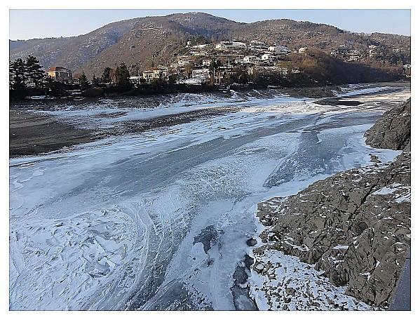 1 - La partie gelée où l'eau passe