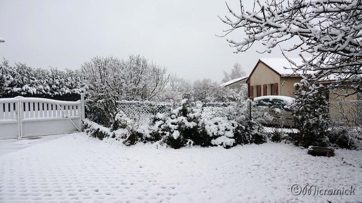La neige est revenue