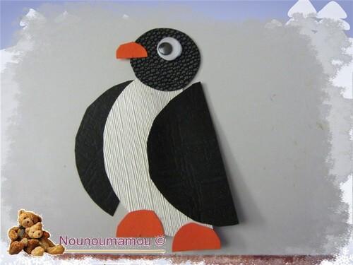 Pingouins, suite décor hiver