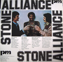 Stone Alliance - Same - Complete LP