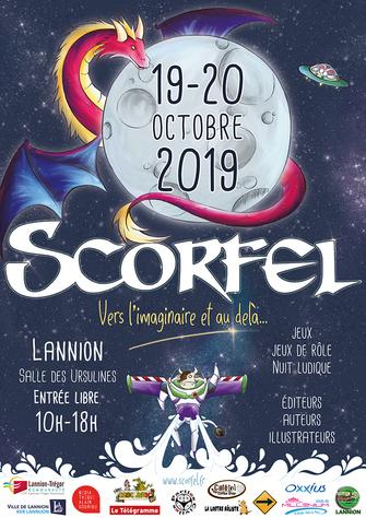 Dédicaces : festival Scorfel (Lannion) : 19 et 20 octobre 2019