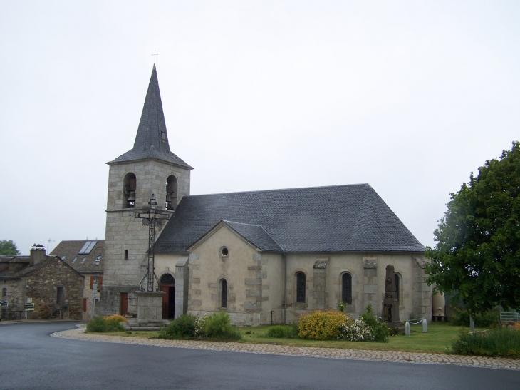 église Saint-Mary - Maurines