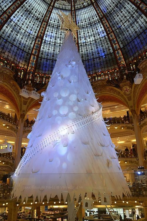Un sapin en papier pour un Noël extra polaire !