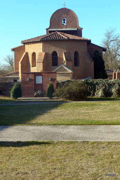 Pechbusque: l'église ...