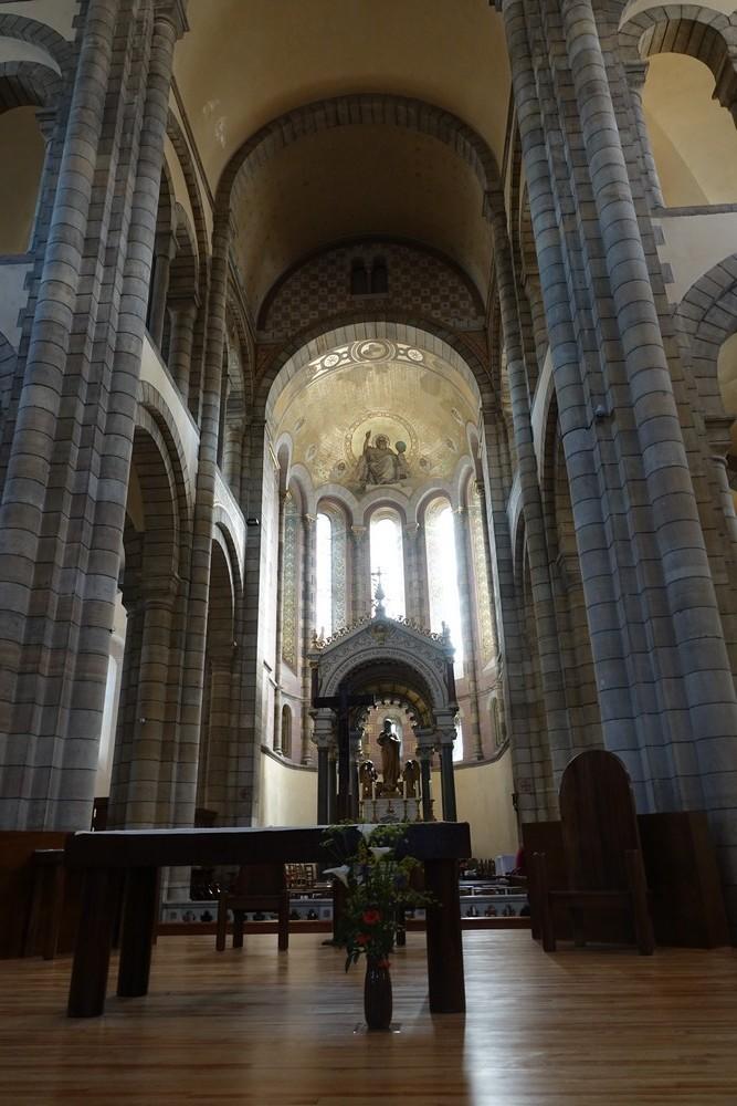 L'église du Sacré-Coeur de Rodez...