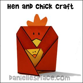 Poule et artisanat de poulet sur www.daniellesplace.com