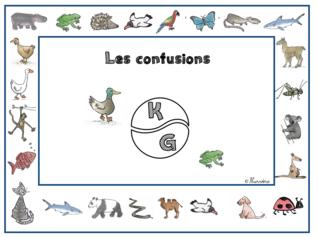 Lire - Confusions K et G