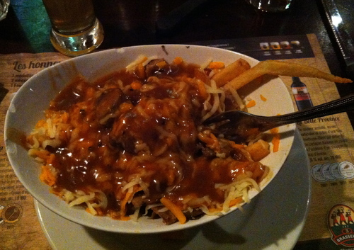 On a gouté la poutine !