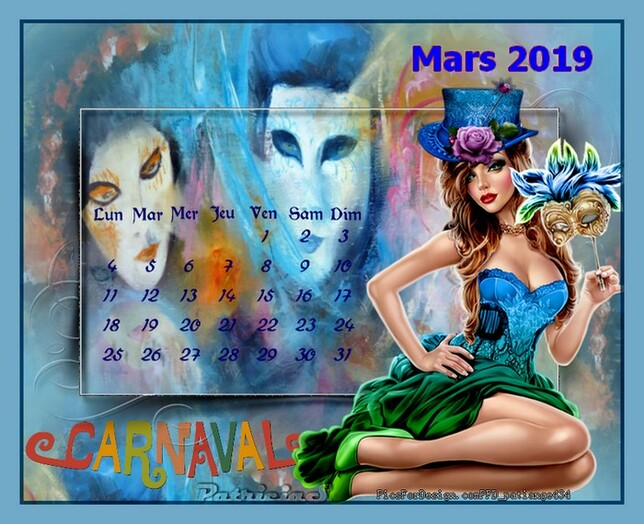 bon mois de mars