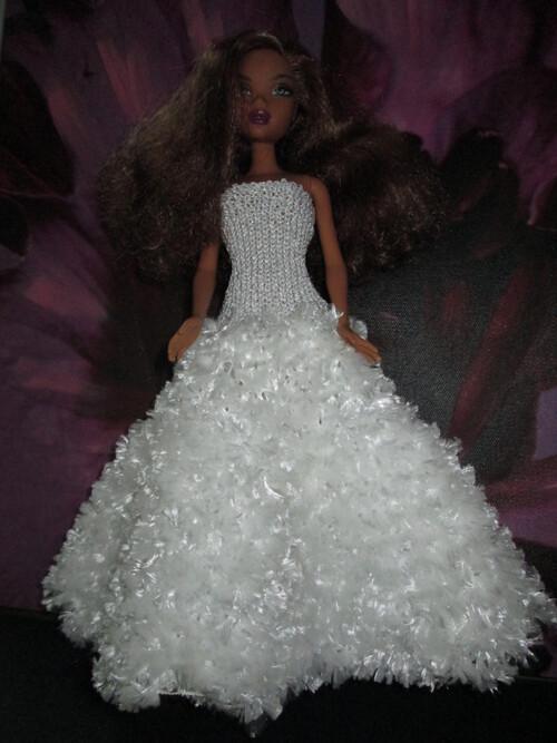 Robes de princesse pour barbie