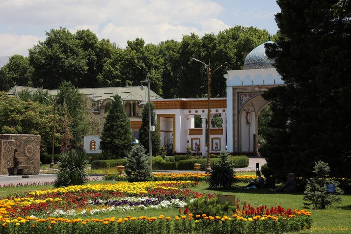 Jardin botanique de Douchanbé