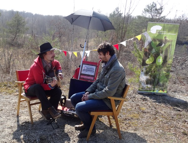 """Une """"chasse au Trésor enchantée"""" organisée par le GIP du futur Parc entre Champagne et Bourgogne a eu lieu en forêt châtillonnaise..."""