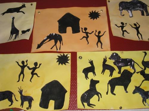 Le tour du monde en art visuel 4 : La savane africaine