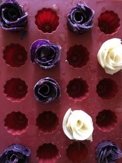 Les roses de princesse en pomme de terre
