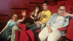 """Notre Groupe Théâtre """" spectateur """" au Festival ACTE ....."""