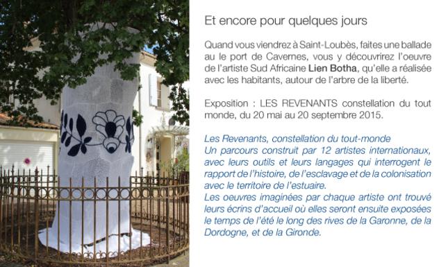 < la chapelle Saint- Loup,                                                         les ateliers du prieuré >