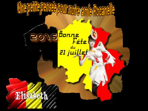 Défi 21 Juillet 2016 Fête des Belges