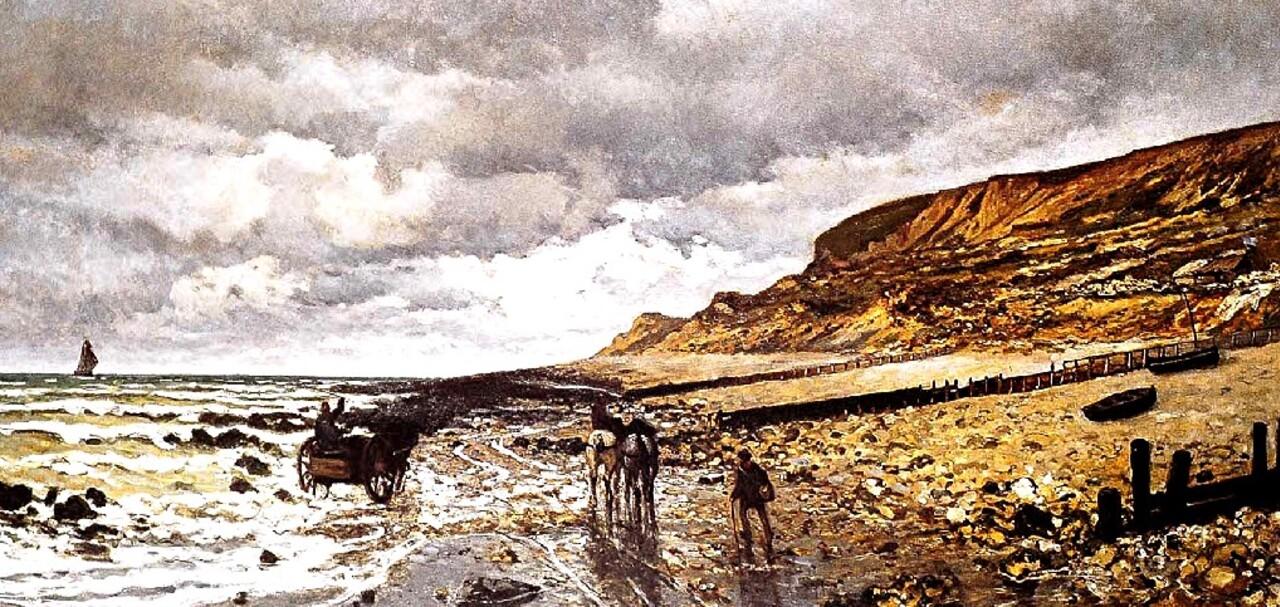 Monet 4 / 1864 : travail en forêt