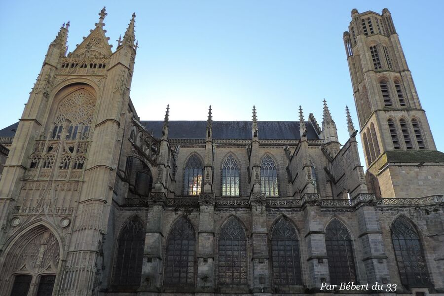 Limoges - cathédrale St Etienne dept 87