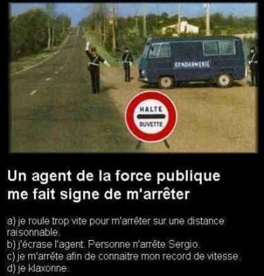 Gendarmes...