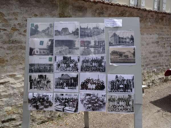 Le vide-greniers organisé à Montigny sur Aube avec les Amis du Château