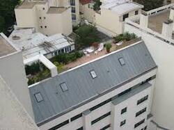 Aménager le toit et en faire une terrasse pour plus d'espace