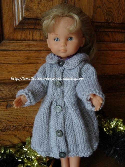 Fiche gratuite vêtements de poupée N° 212