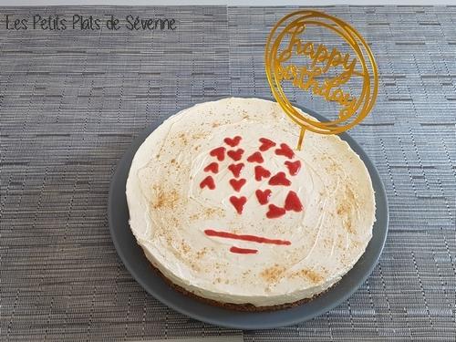 Cheesecake spéculoos sans cuisson