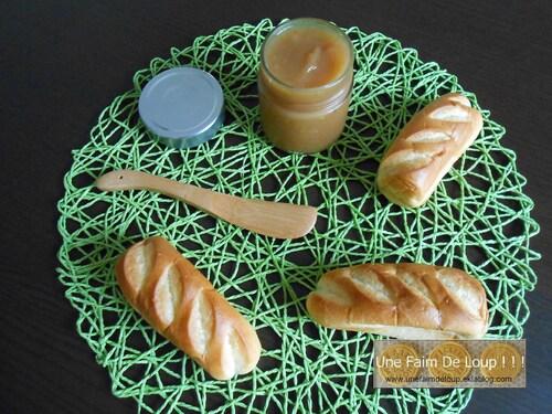 Pâte à tartiner aux pommes, miel et cannelle