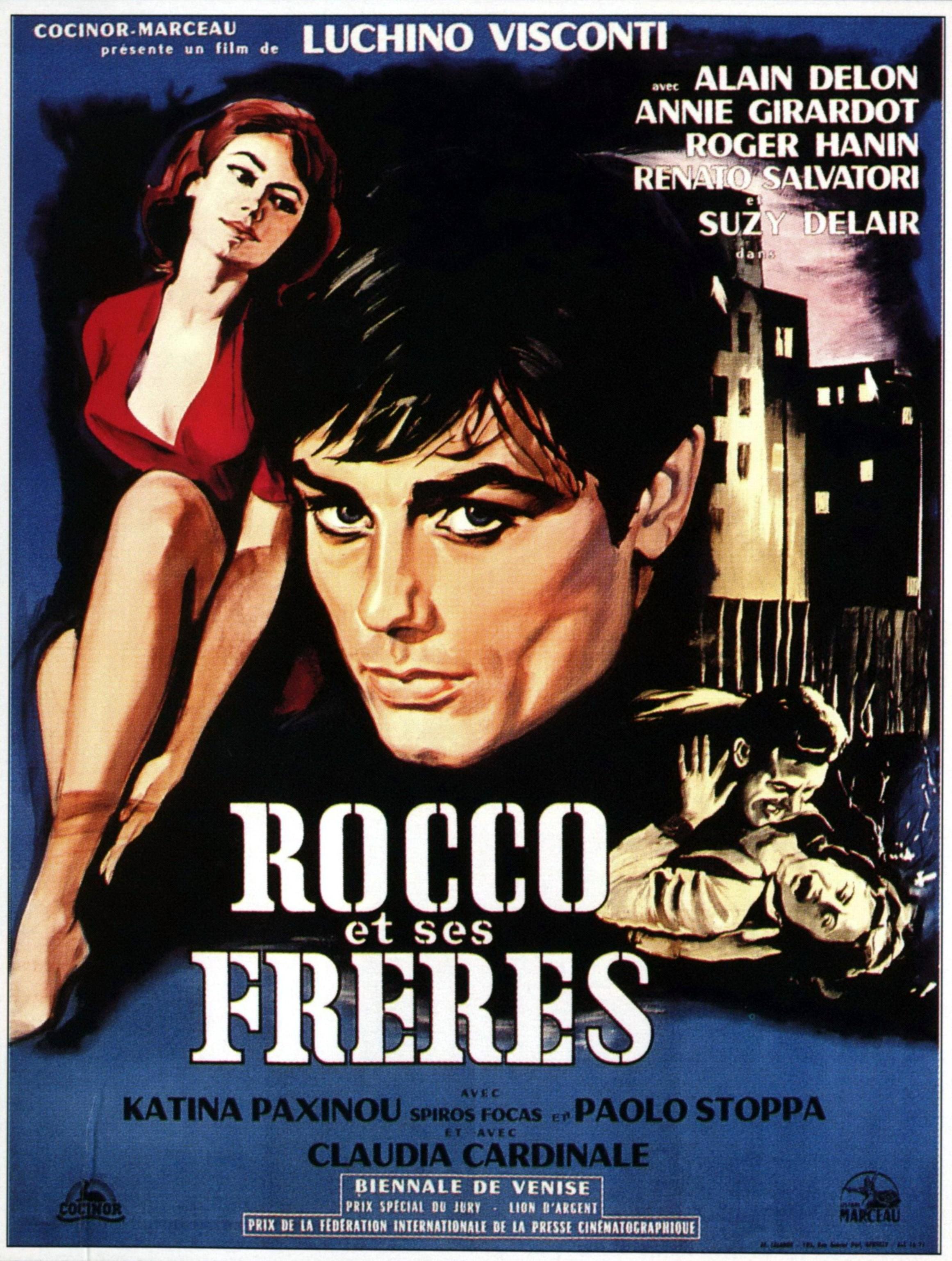rocco et ses freres rocco e i suoi fratelli claudia cardinale box office 1961 box office story. Black Bedroom Furniture Sets. Home Design Ideas
