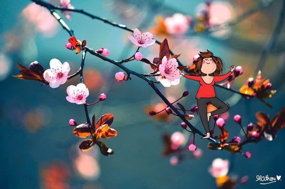 Je vous souhaite un beau printemps ... by Mathou
