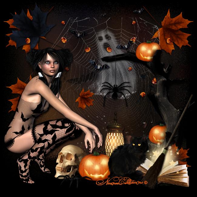 Le fantôme d'halloween