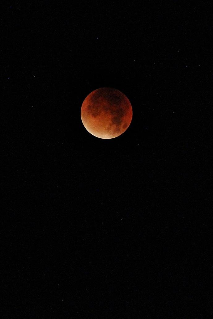 La Super Lune de Sang
