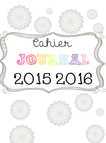 Favori Cahier Journal Version 2015/2016 - Accueil RL69