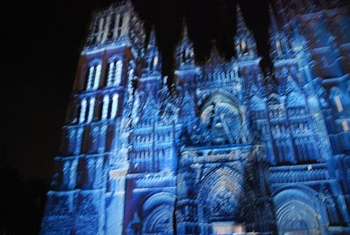 Cathédrale de Rouen en lulières (photos)