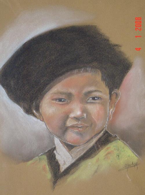 enfant de Mongolie
