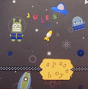 Jules cosmonaute