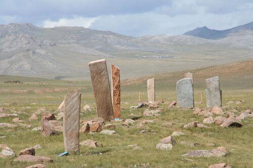 Les statues mehnir d'Ykraine et de Crimée