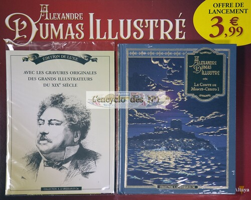 N° 1 Alexandre Dumas illustré - Test