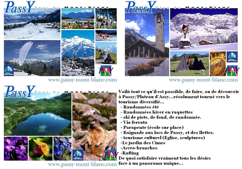 Montages....anciens