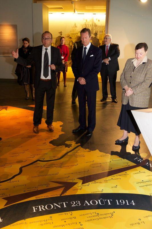 Commémoration du centenaire du début de la 1ère Guerre mondiale en Belgique
